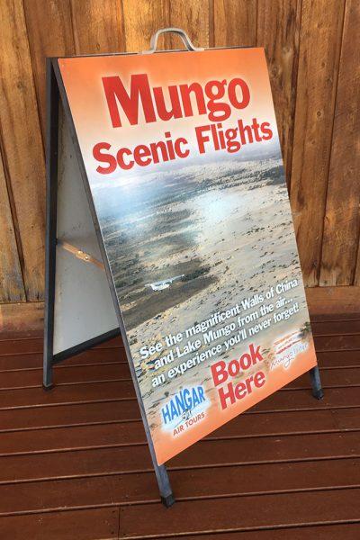 Mungo Scenic Flight A Frame - Zesty Shane